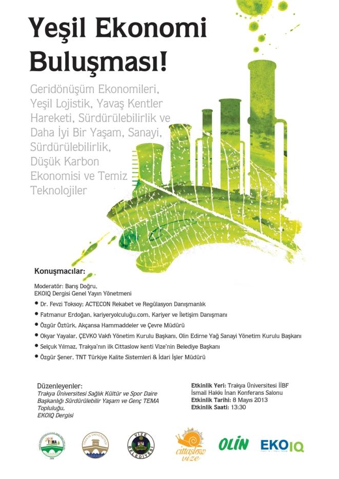 Yeşil Ekonomi Buluşması