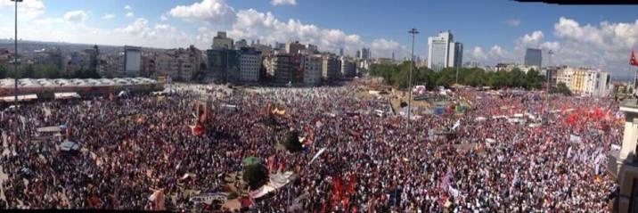 Gezi Parkı Direnişi Bağlamında Deneyim Paylaşımı ve Destek Atölyesi