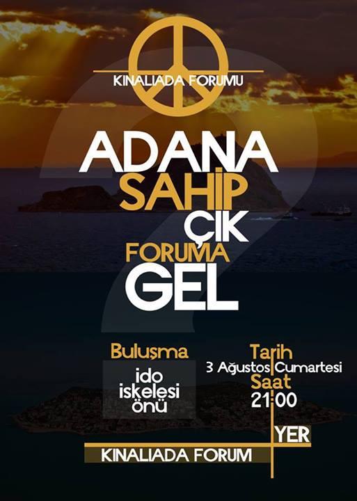 Adana Sahip Çık Foruma Gel
