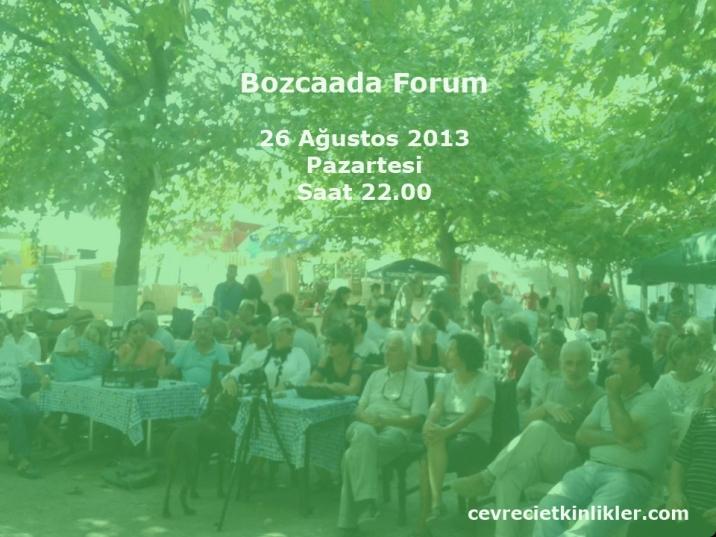 bozcaada forumu