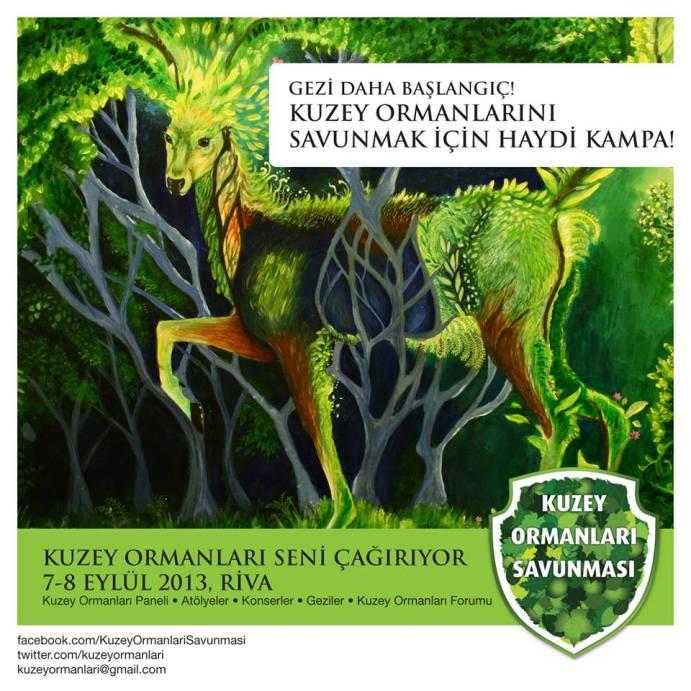 Kuzey Ormanlarini Savunmak icin Haydi Kampa