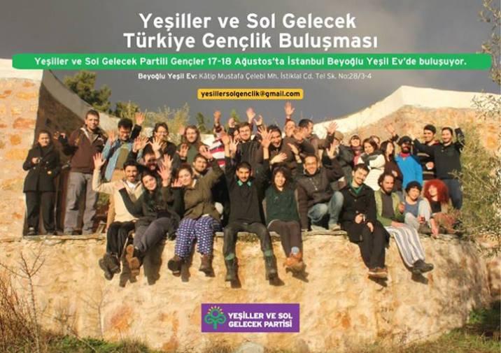 Yeşiller ve Sol Gelecek Türkiye Gençlik Buluşması