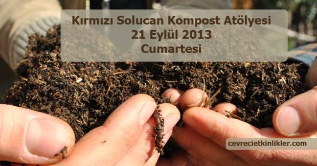 kirmizi solucan kompost atolyesi