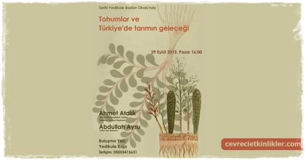 Tohumlar ve Turkiye'de Tarimin Gelecegi