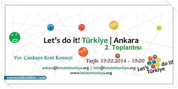 Türkiye Temizliği'ne Katılmak İster misiniz?