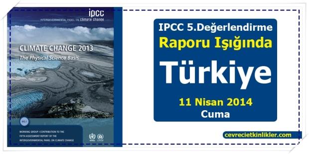 IPCC 5. Değerlendirme Raporu Işığında Türkiye
