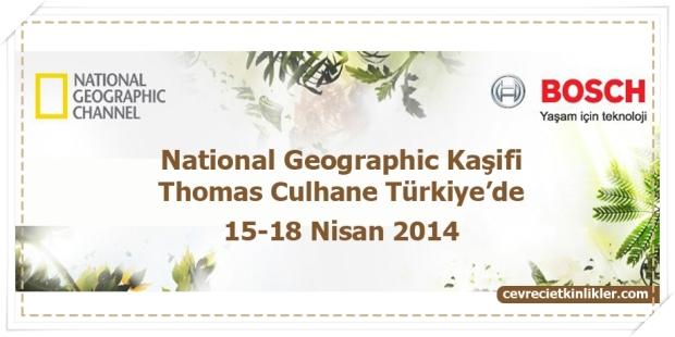 National Geographic Kaşifi Thomas Culhane Türkiye'de