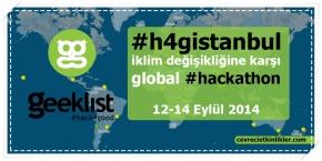 iklim değişikliğine karşı global #hackathon