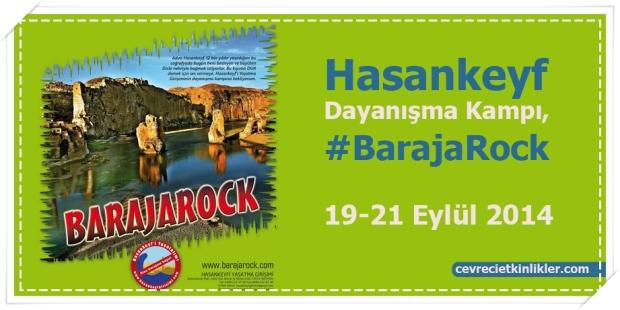 Hasankeyf Dayanışma Kampı, #BarajaRock