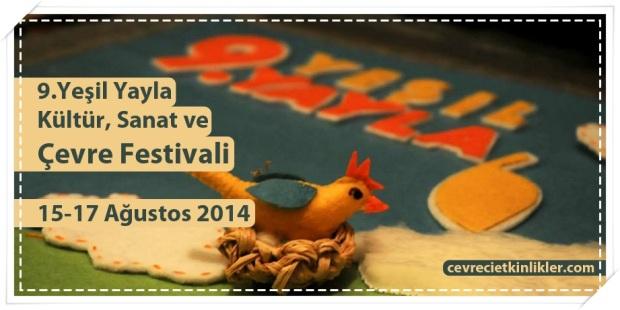 9.Yeşil Yayla Kültür, Sanat ve Çevre Festivali