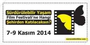 Sürdürülebilir Yaşam Film Festivali'ne Hangi Şehirden Katılacaksın?