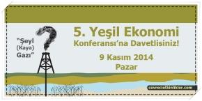 5. Yeşil Ekonomi Konferansı'na Davetlisiniz!