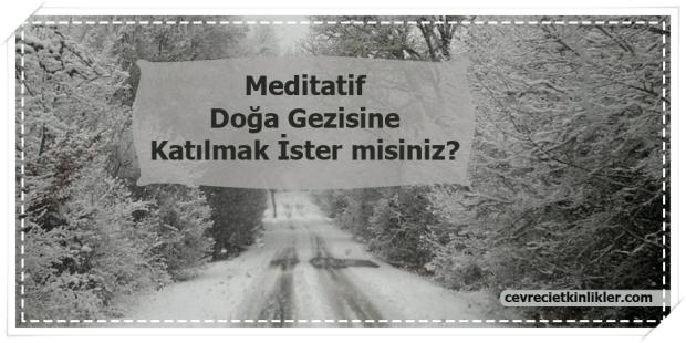 Meditatif Doğa Gezisine Katılmak İster misiniz?